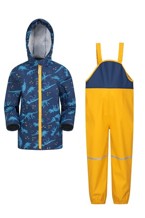 Raindrop Waterproof Jacket and Pants Set
