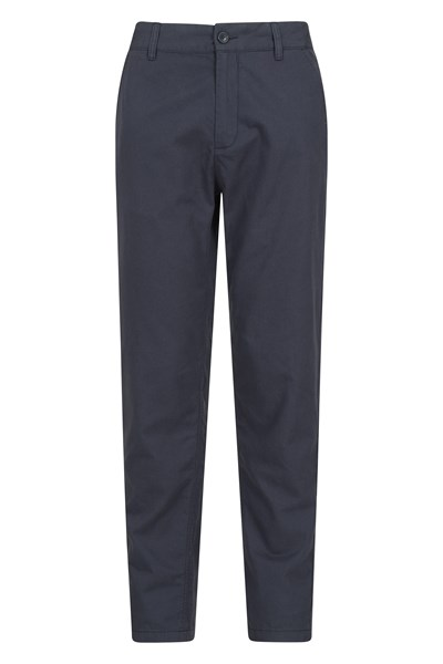 Lakeside Mens Chino Trousers - Navy