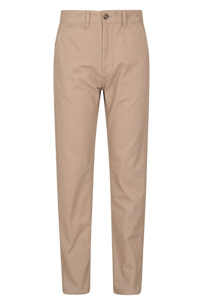 Chino Mens Trousers - Beige