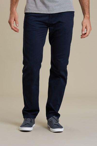 Chino Mens Trousers - Navy