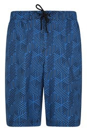 034963 STRETCH PRINTED PACK AWAY SWIM SHORT