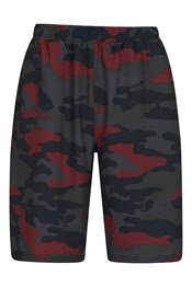 Hurdle Camo Mens Long Shorts