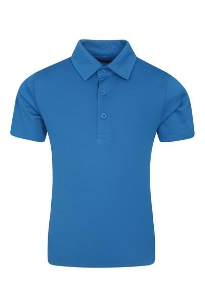 Active Kids Polo T-Shirt - Blue