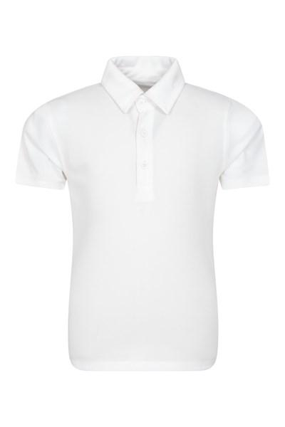 Active Kids Polo T-Shirt - White
