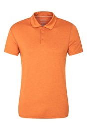 Echo Melange Mens Recycle Polo