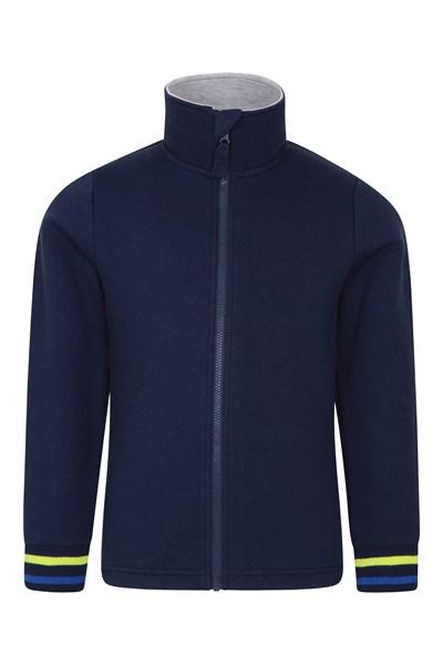 Skye Kids Full-Zip Sweatshirt - Navy