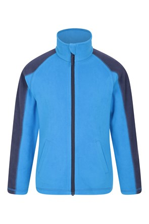 Ashbourne Kinder Fleece-Jacke