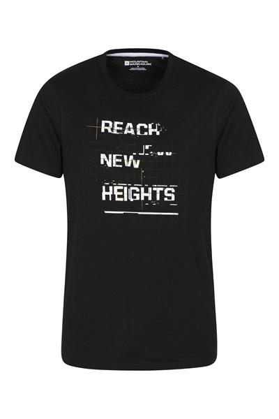 Reach Mens T-Shirt - Black
