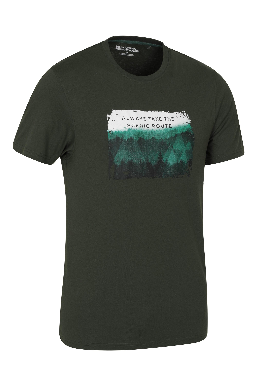 Mountain Warehouse Men Scenic Tee Tshirt