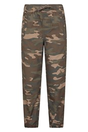 Camo Kids Trousers with Reinforced Knees