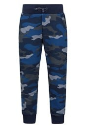 Athletic Printed Kids Joggers