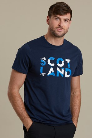 Scotland Word Mens Tee