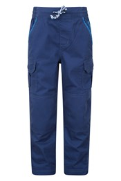 Rumble Cargo Kids Trousers With Re-Enforced Knee