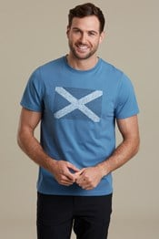 Tee shirt Scottish Flag homme