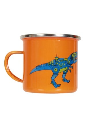 Small Dino Enamel Mug - 200ml
