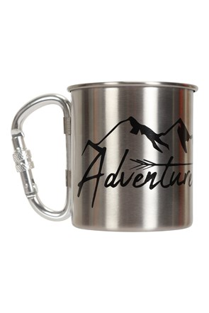 Adventure Printed Karabiner Mug - 280ml