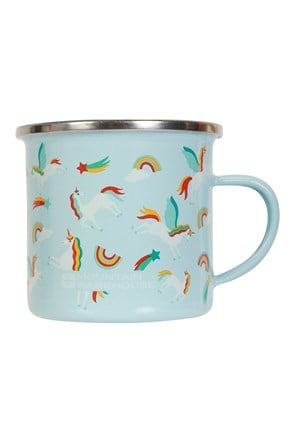 Small Unicorn Enamel Mug - 200ml