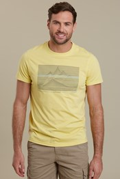 Linear Mountain Herren T-Shirt