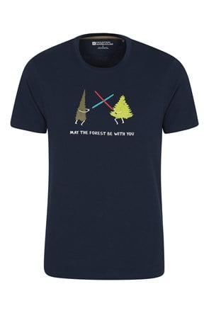 May The Forest Be With You Mens Tee