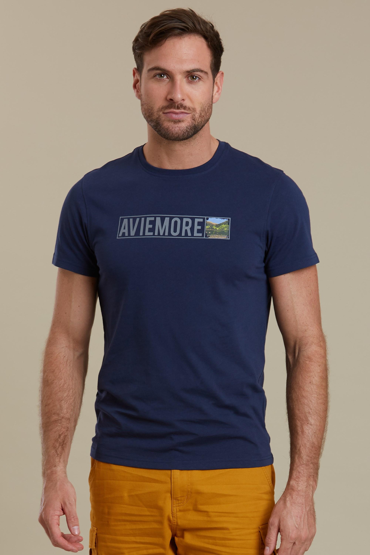 Aviemore II - koszulka damska - Navy