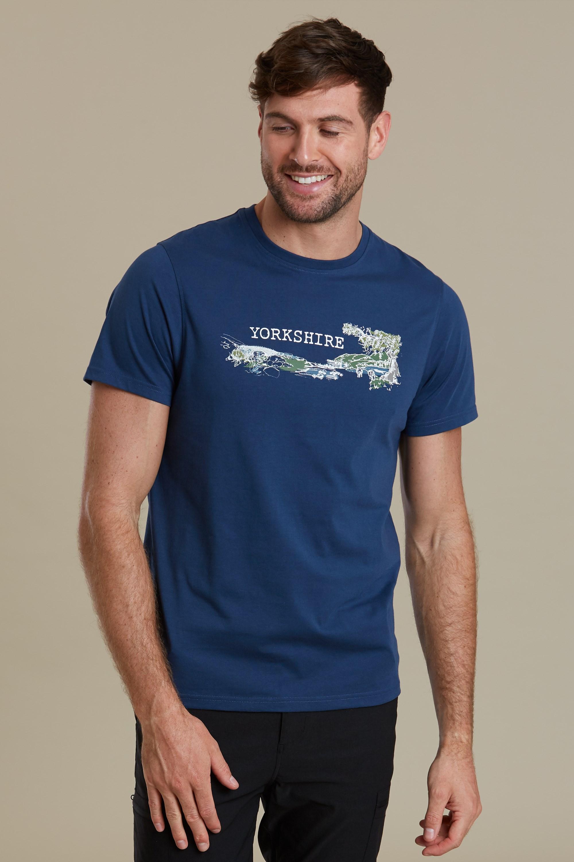 Mountain Warehouse Men Yorkshire Sketch Tee Tshirt