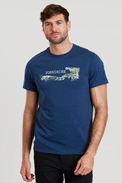 Yorkshire Sketch Mens T-Shirt
