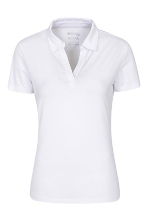 Womens UV Polo Tee