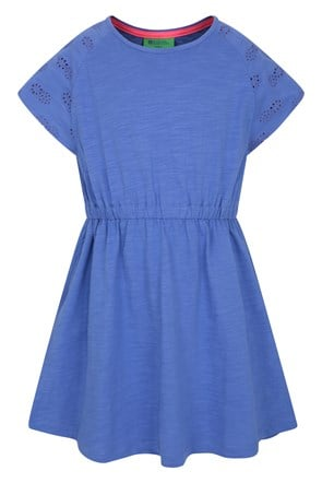 Meadow Broderie Kids Dress