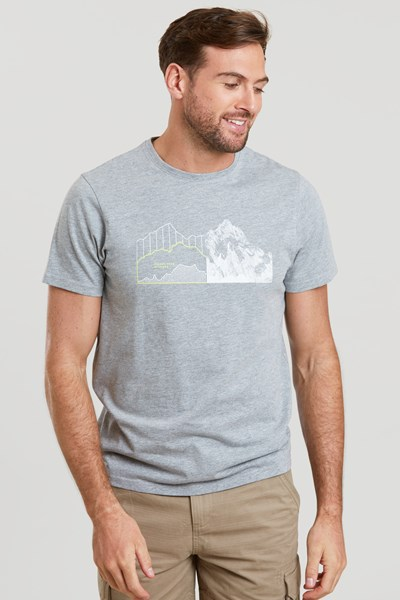 Altitude Mens T-Shirt - Grey