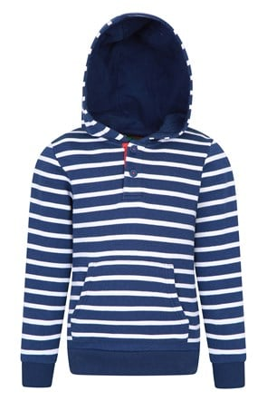 Striped Rugby Kids Hoody
