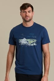 Peak District Sketch Mens T-Shirt