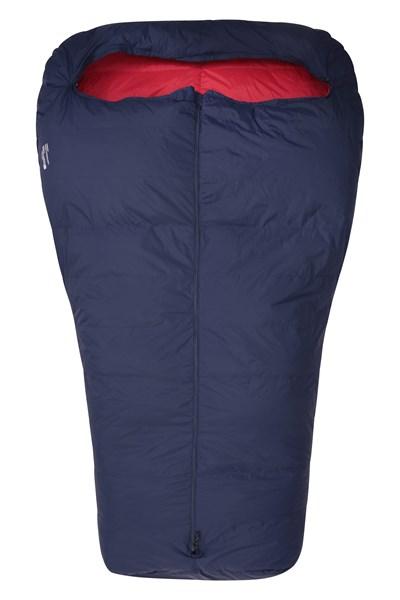 Lightweight Down Double Summer Sleeping Bag - Navy