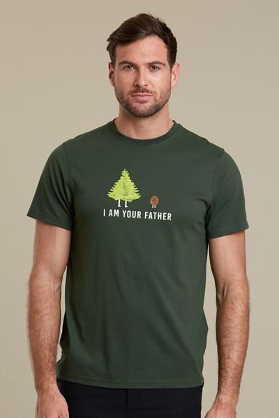 Father Mens T-Shirt - Green