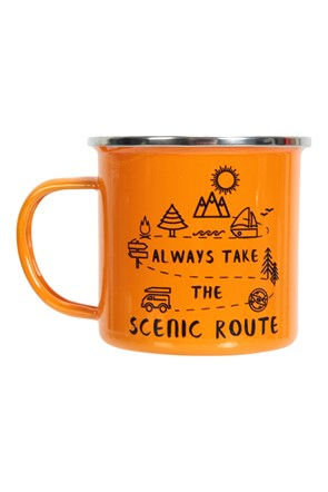 Scenic Route - Emaille Tasse