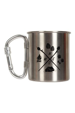 Compass II Printed Karabiner Mug - 280ml