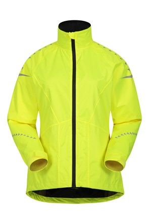 Ultra-Vis Womens Waterproof Bike Jacket