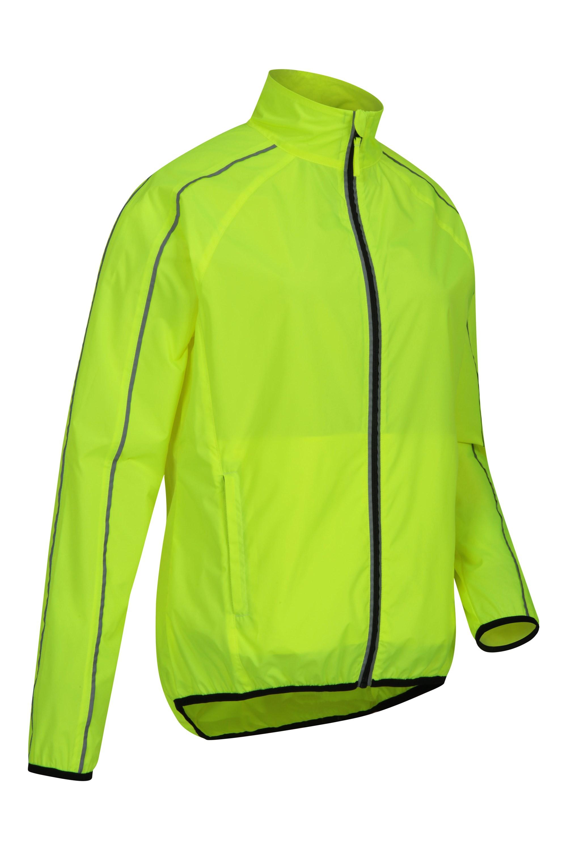High Viz Jacket Lightweight Cycling Running Walking Adult Large /& X-Large
