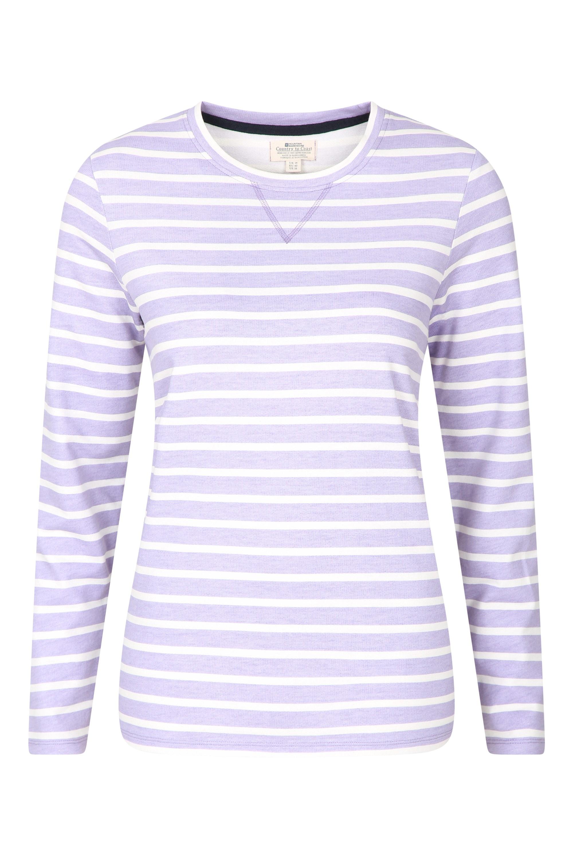 Devon Pull Over - koszulka damska - Purple