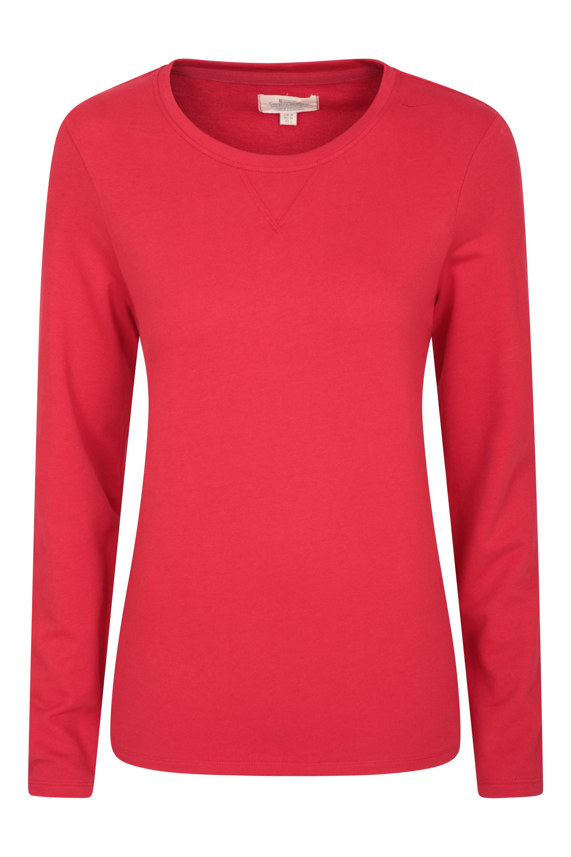 Devon Pull Over - koszulka damska - Red
