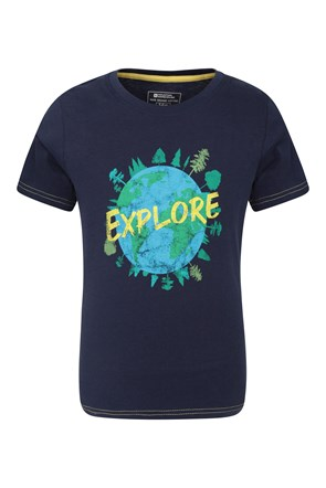 Explore Organic Cotton Kids Tee