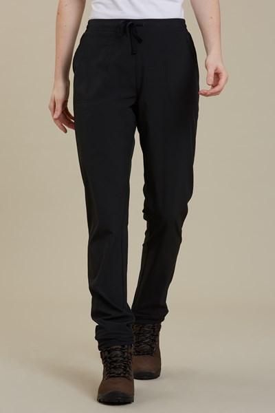 Agile Lightweight Womens UV-Trousers - Black