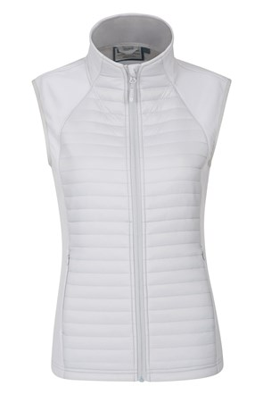 London Womens Padded Softshell Gilet