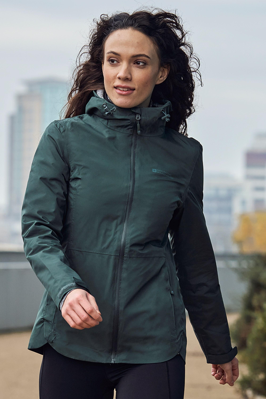 Vancouver Ultra - kurtka wodoodporna damska - Green