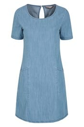 Flora Women UV Protective Denim Dress