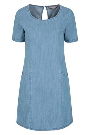 Robe Denim Anti-UV Femme Flora