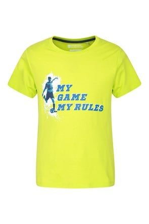 My Game My Rules Kids Tee