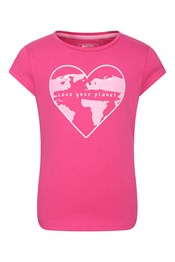 Heart Map Kids Organic Cotton Tee