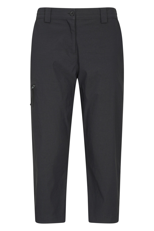 Hiker Stretch - spodnie damskie capri - Black