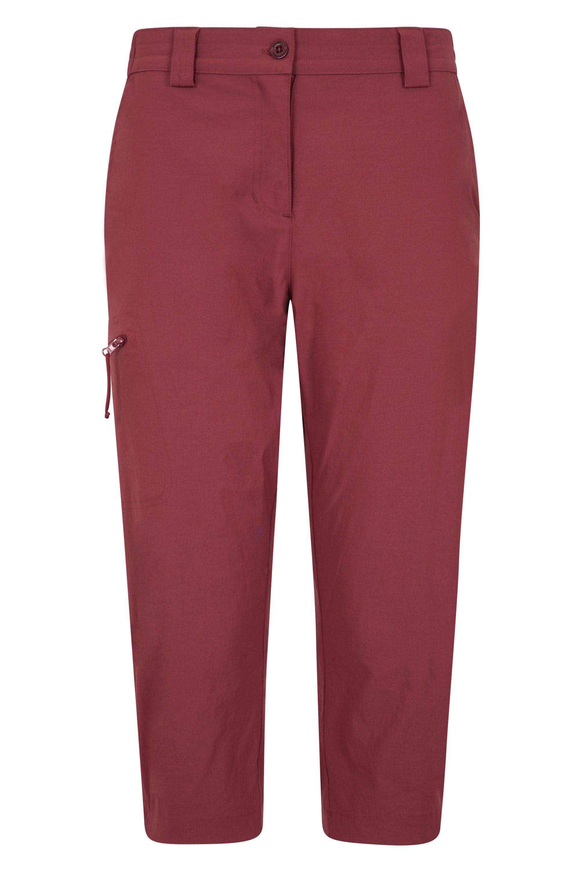 Hiker Stretch - spodnie damskie capri - Orange