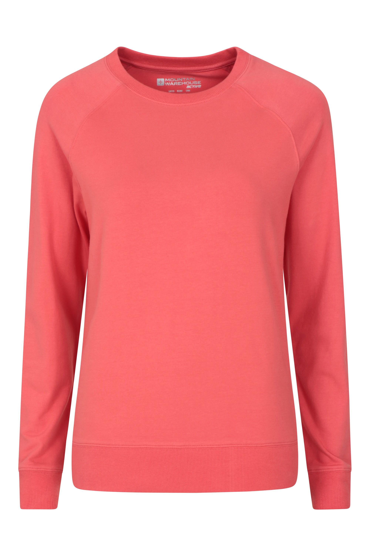 Crew - bluza damska - Pink